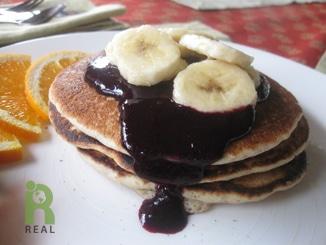 Our Pancake House: Vegan Buttermilk Pancakes with ...