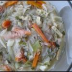 broken-rice-paper-noodle soup