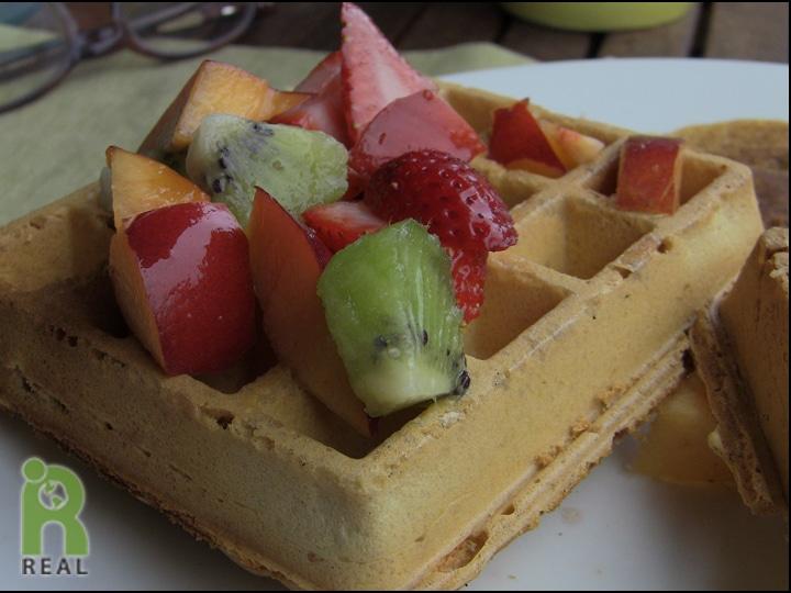 Garbanzo Bean Flour Waffles: Gluten-free | RESPONSIBLE ...  Garbanzo