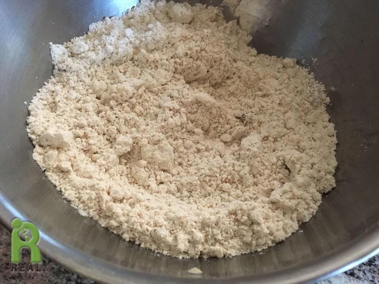 Cinnamon rolls-flour