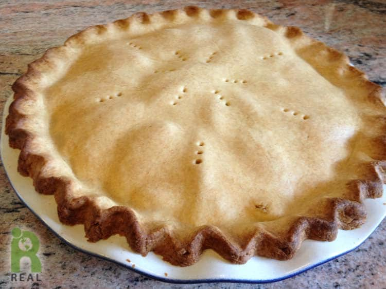 Deep Dish Apple Pie, gluten-free | RESPONSIBLE EATING AND ...
