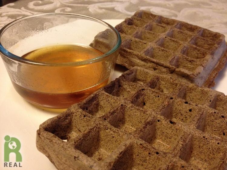 buckwheat-waffles-syrup