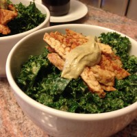 kale-with-tempeh