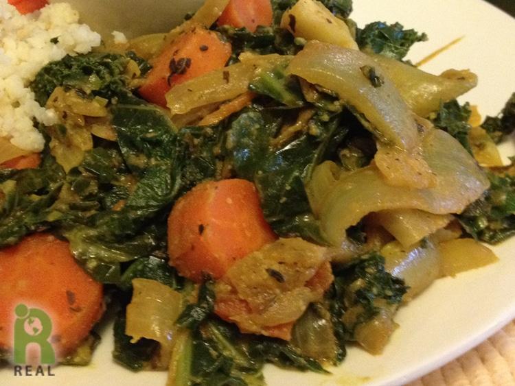 greens-coconut-sauce