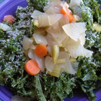 kale-coconut-veggies-salad