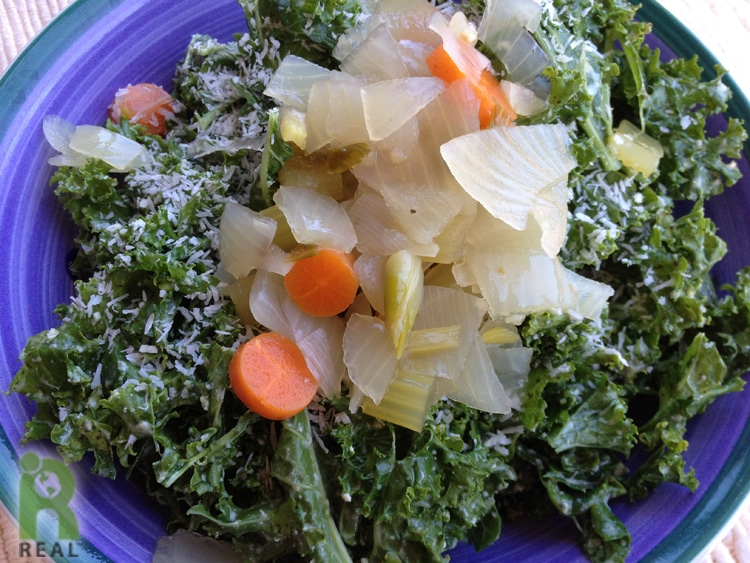 kale-coconut-veggies-salad