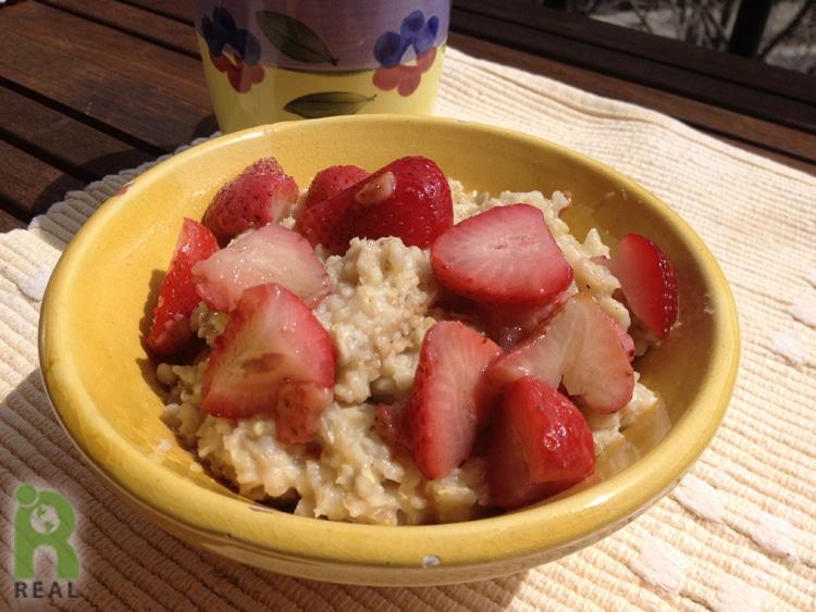 oatmeal-strawberries