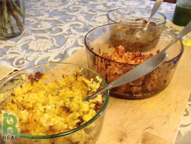 25april-leftovers-rice-cauliflower
