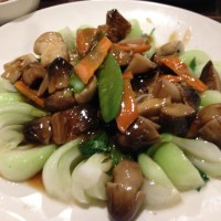 Triple Mushrooms Shanghai Vegetables