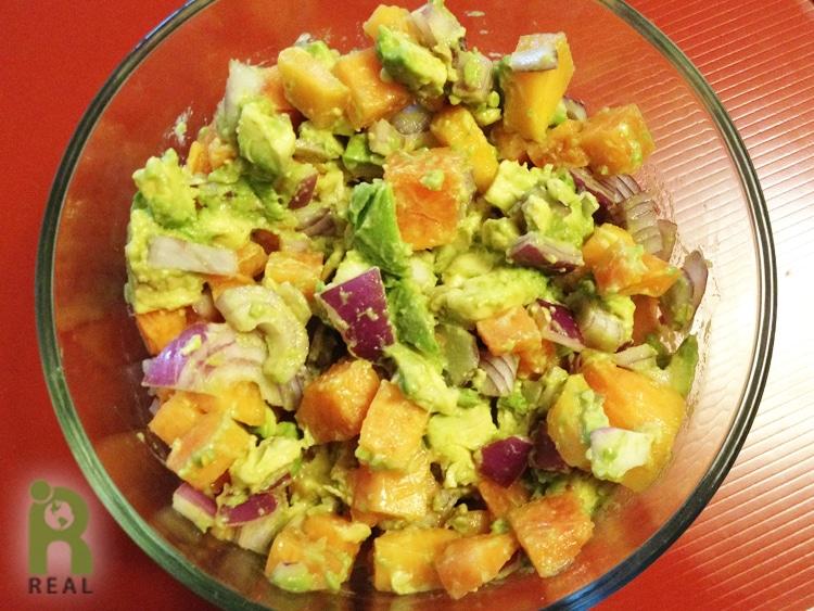 papaya-avocado-salsa