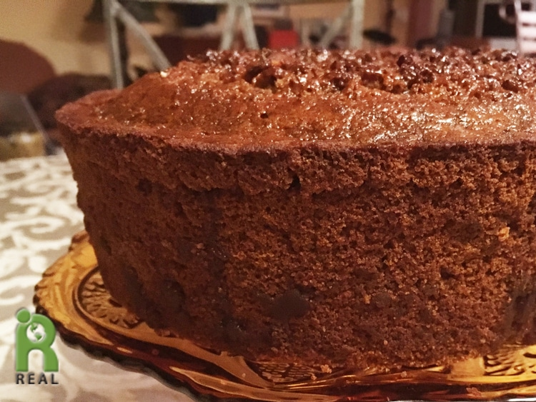 Gluten Free Honey Cake For Rosh Hashanah